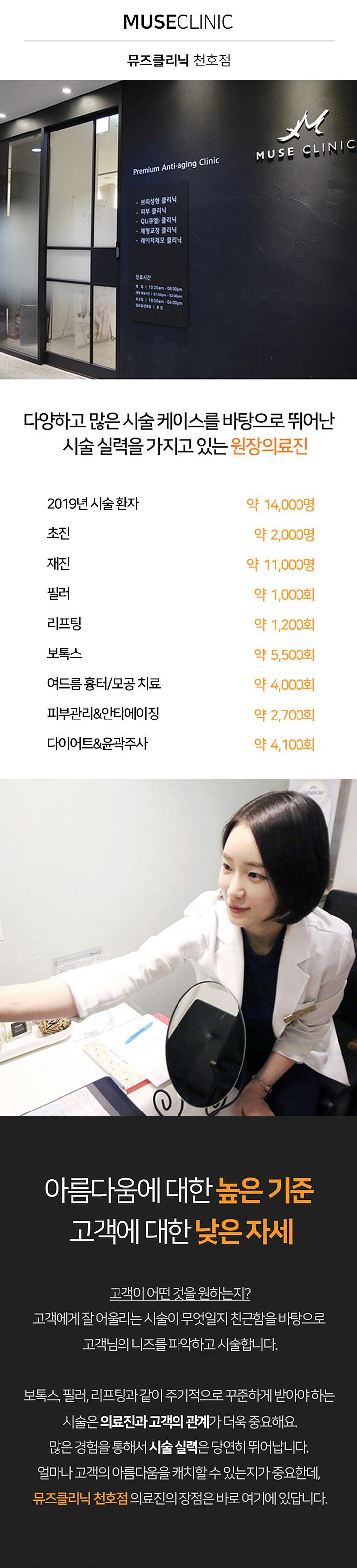 뮤즈클리닉 천호점 - 소개